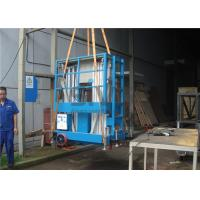 Push Around Vertical Mast Lift , 12 Meter Working Height Electric Work Platform Manufactures