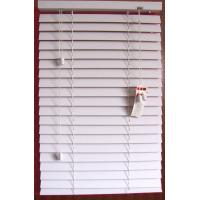 China White Color 50mm PVC Foamwood Venetian Blinds Window Treatment on sale