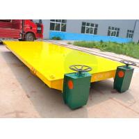 Shipyard Steel Rod Transport Battery Operated Motorized Transfer Car On Railroad Manufactures
