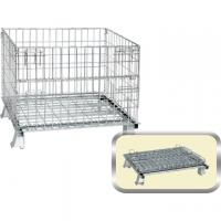 Stackabe Wire Mesh Containers Manufactures