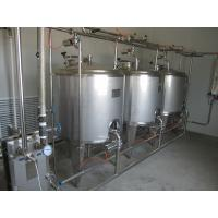 Security 3000L Cip Clean In Place Piping Washing Juice Beverage Tank Manufactures