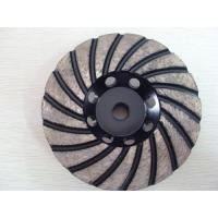 Silver Brazed 4.5 Diamond Grinding Wheel For Angle Grinder , High Performance Manufactures