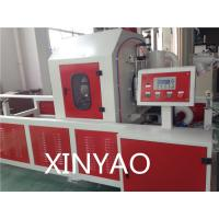Plastic Pipe Automatic Cutting Machine Chip less / Non - scrap with Planetary saw blade Manufactures