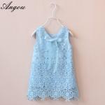 Agnou Summer Lace Vest Girls Dress Baby Girl Princess Dress Chlidren Clothes wholesale Manufactures