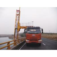 China Truss Bridge Inspection Equipment FAW chassis 8x4 206KW 280HP , max span width 4m wholesale