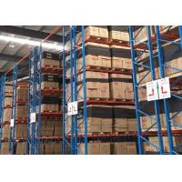 China ISO Certified Industrial Pallet Racks Heavy Duty Pallet Racking System on sale