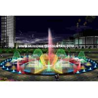 China Outdoor Rock Water Fountains Wall Mounted Water Fountains RGB Stainless Steel Cable on sale