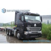 420 HP Sinotruk HOWO A7 Tractor Truck Heavy Prime Mover AMT Gearbox Diesel Fuel Type Manufactures
