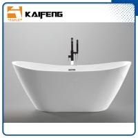 1800mm Long Oval Freestanding Tub With Pop - Up Drain Customized Color Manufactures