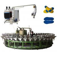 Two colors Polyurethane injection direct inject shoes making machine Manufactures