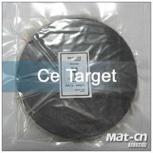 Rare Earth Metal Targets Cerium Manufactures