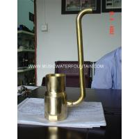 """Brass Material Pond Fountain Nozzles Size 4"""" For Garden Water Features Bubble Effect Manufactures"""