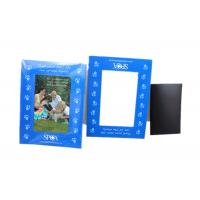 China Note Schedule Holder Refrigerator 4x6 Inch Magnetic Photo Frame on sale