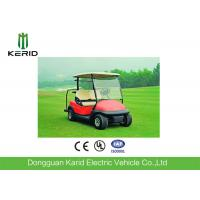High Cost Performance Riding Comfort 2 Seats Mini Electric Golf Carts 4KW Red Club Car Manufactures