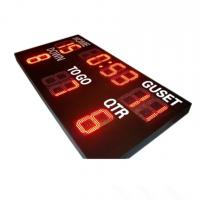 Outdoor Electronic Led Scoreboard For American Football 1000mm*2200mm*100mm Manufactures