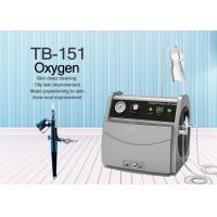 4 Bars Water Oxygen Silk Jet Peel Machine for Blackheads Removal / Skin Whitening Manufactures