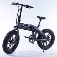 20 Inch Folding Fat Tire Electric Bike With Hidden Battery For Adults Manufactures