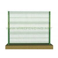 PVC Coated Security Electro Galvanized Welded Steel Wire Mesh Garden Fence Manufactures