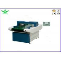 25m / Min Automatic Needle Detector Machine For Garment Industrial 1.2mm Manufactures