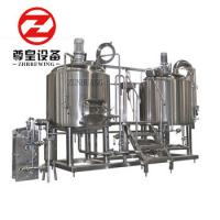 Bright 600l Micro Brewing Systems With Fermentation Tanks PLC Controlled Manufactures