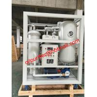 Buy cheap HOT!! Vacuum Turbine Oil Purifier Machine, Steam Turbine Oil Recycling Plant from wholesalers