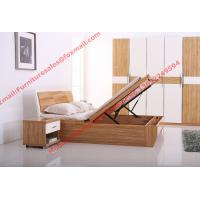 Modern furniture by storage bed with Hydraulic rod Manufactures