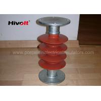 35kV Silicone Rubber Station Post Insulator Red Color For Switch Parts Manufactures