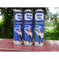 6 Color Printing Snow Spray Cans , Graffiti Spray Paint Cans Straight Body
