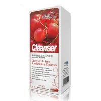 China Female Cherry Natural Facial Cleanser , Oil - Free Whitening Cleanser Purify Shrink Pores on sale