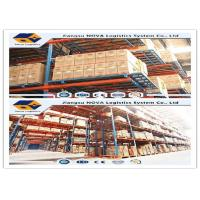 Conventional Selective Warehouse Shelving Systems , Industrial Heavy Duty Pallet Racking Storage Manufactures