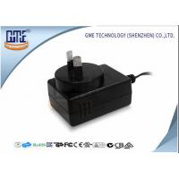 1.25A Black Audio Wall Mount Power Adapter For Australia Low Ripple Manufactures