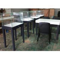 Large Qty Exhibition Display Cases Matte Gray Color Modern Simple Design Manufactures