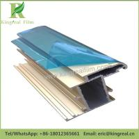 Blue Color Self Adhesive Surface Protection Aluminum Sheet Adhesive Film Manufactures