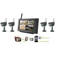 """1/5"""" Color 600TVL Wireless Surveillance Camera Systems With 7"""" TFT LCD Screen Manufactures"""
