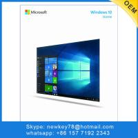 USA Windows 10 Home OEM Full Package English Version DHL Free Shipping Manufactures