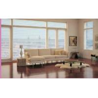 Windows Blinds Inside Glass Horizontal  Pattern Sound / Heat Insulation Manufactures