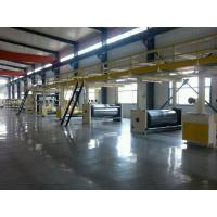 Pneumatic Corrugated Cardboard Production Line 1800mm Width Manufactures
