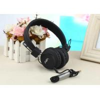 China Corded On Ear Sport Headphones Customized Color USB Connecting Stereo Sound on sale