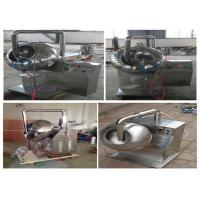 800×600×900mm Chocolate Tablet Coating Machine Adjustable Rotational Speed Manufactures