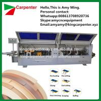 Quality KC307P pvc edge banding machine edge banding corner rounding machine for sale
