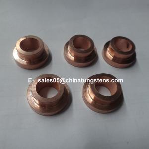 Wolfram 90% Tungsten 10% Copper Arcing Contact Tip W90Cu10 CE Certificate Manufactures