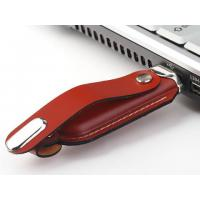 Branded Portable Leather USB Flash Drives Manufactures