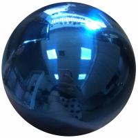 Gazing Mirror Hollow Steel Sphere , SS Hollow Ball 10 250MM Rainbow Blue Manufactures