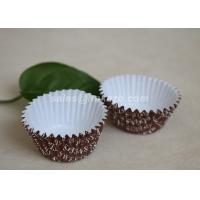 Paper Personalized Custom Printed Ice Cream Cups For Dessert / Cake Manufactures