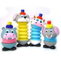 China 450ml collapsable water bottles for kids on sale