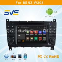 Android 4.4.4 car dvd player for Benz W203 car radio gps navigation system china supplier Manufactures