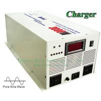 High Quality Pure Sine Wave Built-in Charger Digital Display DC to AC Sufficient 3000W Power Inverter Manufactures
