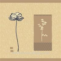New Chinese style flower polypropylene wilton area rug Manufactures