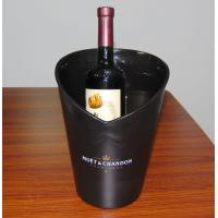 Plastic insulated mini illuminated wine / beer champagne ice buckets 1 bottle wine cooler Manufactures