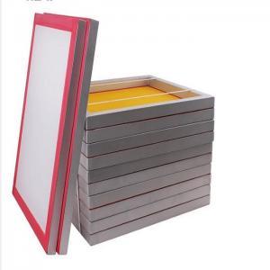 High Quality Aluminum Silk Screen Printing Frame With Mesh For Screen Printing Machine ,Screen Making Manufactures